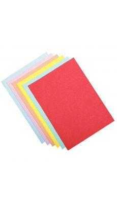 Sous-chemise Rainex rouge 60g 22x31 - Paquet de 50