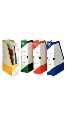 Boite de classement à pan coupe Fast box coloris assortis - Paquet de 4