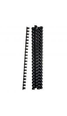 Acco - 4020623 - Anneaux à relier noir - Diamètre 12 mm - Blister de 25