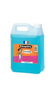 Cleopatre - OAD5L - Colle forte cristal bleu - Bidon de 5 litres