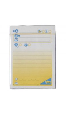 POST-IT - Bloc post it message telephone 102x74mm