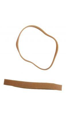 SAFETOOL - Bracelet élastique en caoutchouc blond 70x05mm - Paquet de 1kg