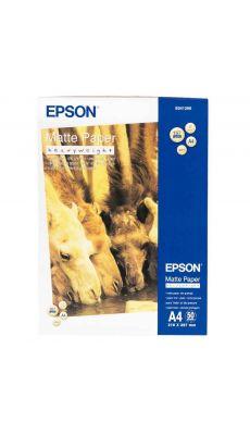Epson - C13S041256 - Papier couché Mat - A4 - 167g - Paquet de 50