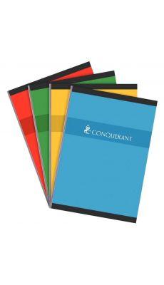 Conquerant - 100 102 385 - Cahier brochure petit carreaux - A4 - 192 Pages
