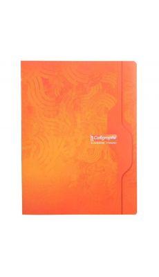 Clairefontaine - 7490 - Cahier dessin uni blanc - 24x32 cm - 96 Pages