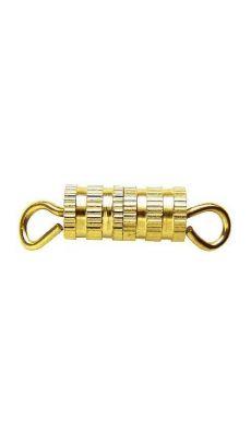 LA FOURMI - JEG002-G-8 - Fermoir collier a vis dore - sachet de 8