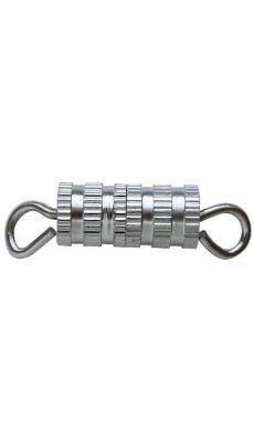 LA FOURMI - JEG002-S-8 - Fermoir collier a vis argent - sachet de 8