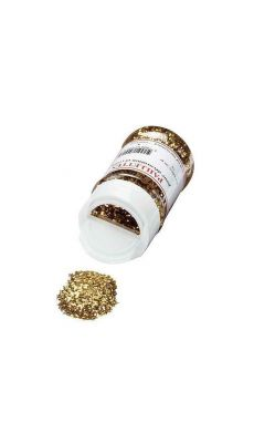OZ INTERNATIONAL - MFB98-OR - Paillette scintillante or - pot de 50g