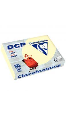 Clairefontaine - 1861 - Ramette papier DCP A4 100g - Ivoire - 500 Feuilles