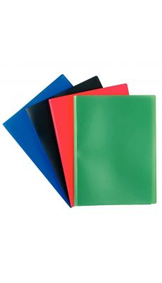 Protège-documents polypropylène 20 vues - Noir