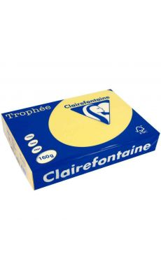 Clairefontaine - 1110 - Ramette papier A3 160g - Bouton d'or - 250 Feuilles