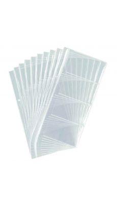 Durable - 2387.19 - Recharge pour Visifix centium - Paquet de 10 pochettes