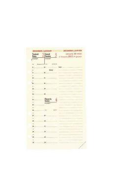 QUO DAVIS - Recharge agenda modul 16m/timer 17
