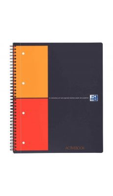 OXFORD OFFICE - 001401 - Cahier activebook 23x29,7 petit carreaux 160p