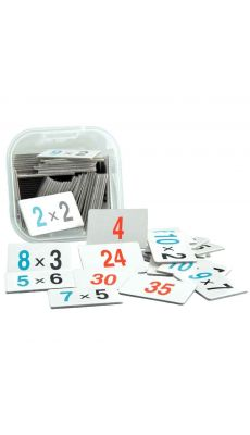 Boite de jeu apprendre a multiplier