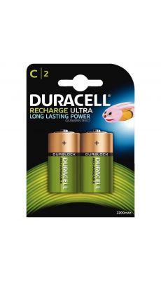 Duracell - 055988 - Pile rechargeable NIMH HR14 - Blister de 2
