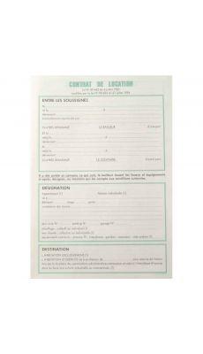 Exacompta - 82591 P - Feuille contrat de location pour locaux non meubles