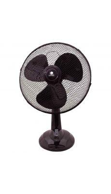 Ventilateur de table 3 vitesses 45cm Noir