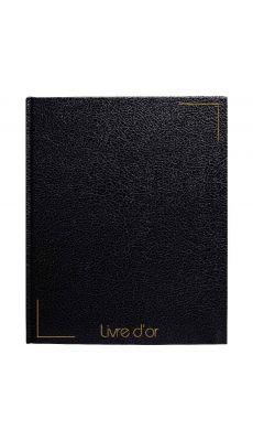 SIGN - Livre d' or 128p noir tranche or