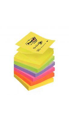 Post it repositionnable z-note 76x76mm 100 feuilles - Lot de 6 blocs