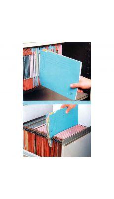 Sous dossier dostri 5 cases bleu - Paquet de 10