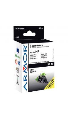 ARMOR - K11895 / K20105 - Cartouche compatible HP C6615DE Noir
