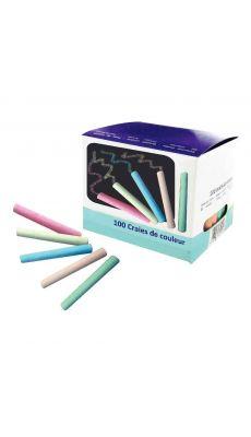SIGN - Craies cylindriques coloris assorti - boite de 100