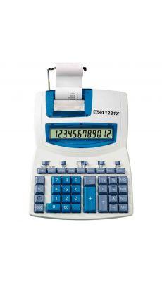 Ibico -1221X - Calculatrice imprimante semi professionnelle de bureau - 12 chiffres