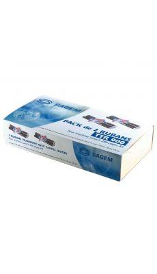 Ruban transfert thermique Sagem ttr900 x 2