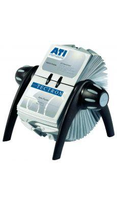 Durable - 2417-01 - Fichier rotatif Visifix pour 400 carte de visite