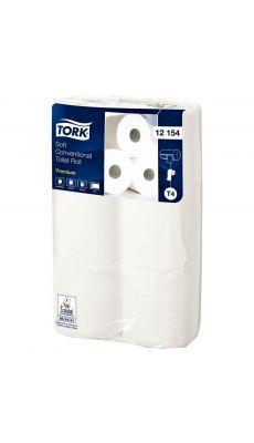 TORK - Papier hygiénique Tork premium 2 plis - Lot de 6 rouleaux