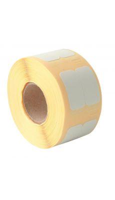 Dymo - 11353 - Etiquette multi-usage adhésif semi-permanent - 25x13 mm - 1 Rouleau de 1000