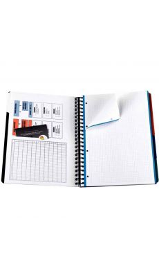 OXFORD OFFICE - 002505 - Cahier organizer european book 240p A4+ seyes