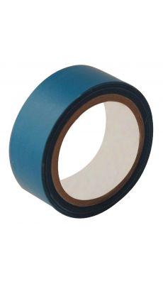 Rouleau adhesif toile 19x2,7m bleu