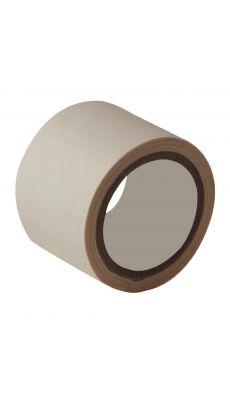 Rouleau adhesif toile 38x2,7m blanc