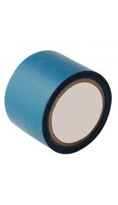 Rouleau adhesif toile 38x2,7m bleu