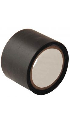 Rouleau adhesif toile 38x2,7m noir