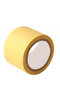 Rouleau adhesif toile 38x2,7m jaune