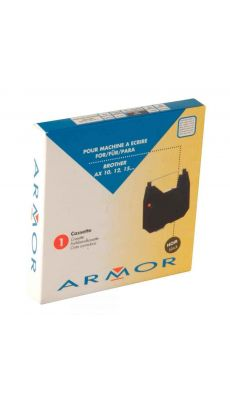 ARMOR - F80765 - Ruban cassette compatible pour machine à écrire AX10