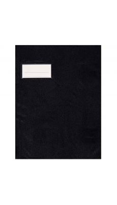 Protege cahier pvc 18/100 17x22 noir