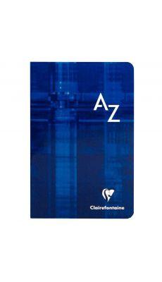 Clairefontaine - 3608 - Répertoire piqûre grand carreaux - 11x17 cm - 96 Pages