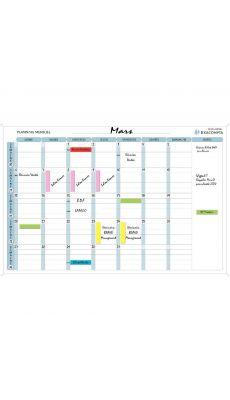 Exacompta - 57150E - Planning magnétique mensuel 90x59cm + accessoires