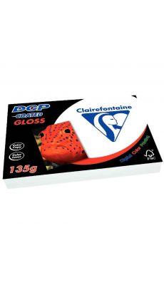Clairefontaine - 6841 - Ramette papier DCP A4 135g - Blanc - 250 Feuilles