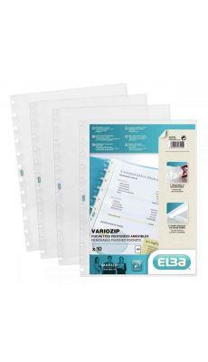 Elba - 227510-17 - Pochette pour protège-document Variozip 57539 - Paquet de 10