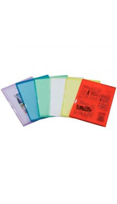 Elba - 100210762 - Pochette coin PVC rigide Fard'Or - Assortie - Paquet de 50