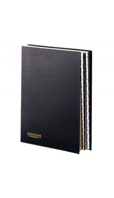 Exacompta - 6212 00 065 - Trieur plastifié alphabétique 26 compartiments - Noir