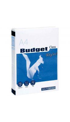Ramette papier A4 Budget 80g - Blanc
