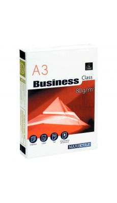 Ramette papier A3 Business 80g - Blanc