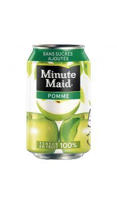 MINUTE MAID  - 000108 - Canette de 33cl Minute Maid Pomme - Pack de 24