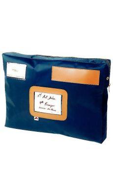 ALBA - POCAIS - Pochette caisse format 18,5x27x4cm - Bleu